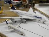 CRJ 700 im Vergleich zum A380
