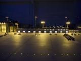 Flutlicht im Frachtbereich