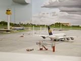 A380 Richtung Start- und Landebahn