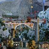 Schweiz: Tal bei Nacht