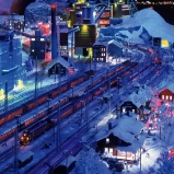 Skandinavien: Bahnhof Kiruna