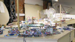 Die Kirmes-Baustelle im Miniatur Wunderland