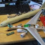 Der neue A330-300 in der Werkstatt