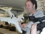 Gerrit mit kaputtem A380