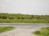 Horizont Start- und Landebahn