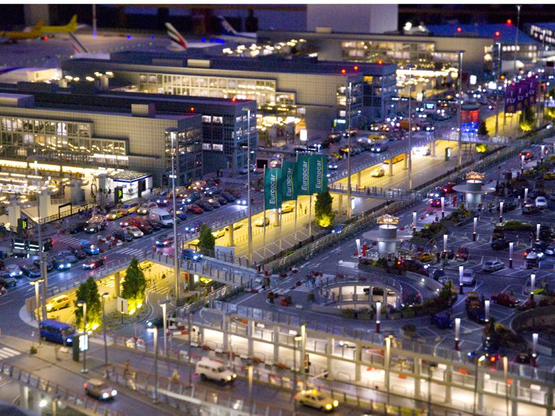 Terminals (noch) ohne Dächer