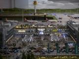 Terminal mit Einblick