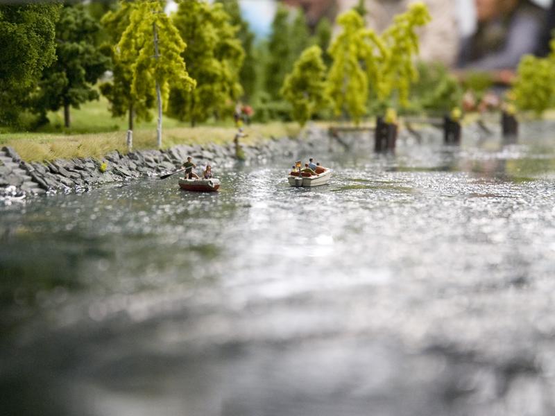 Die Wasserflächen