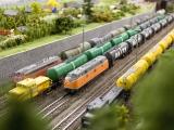 Abstellgruppe für Güterwagen