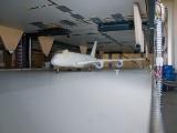 Der Airbus steht für Tests bereit