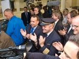 Beifall vom A380-Piloten