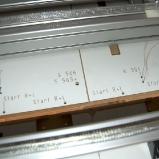 erste Kabel unter der Anlage