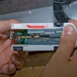Pushbackprototyp mit Sensoren