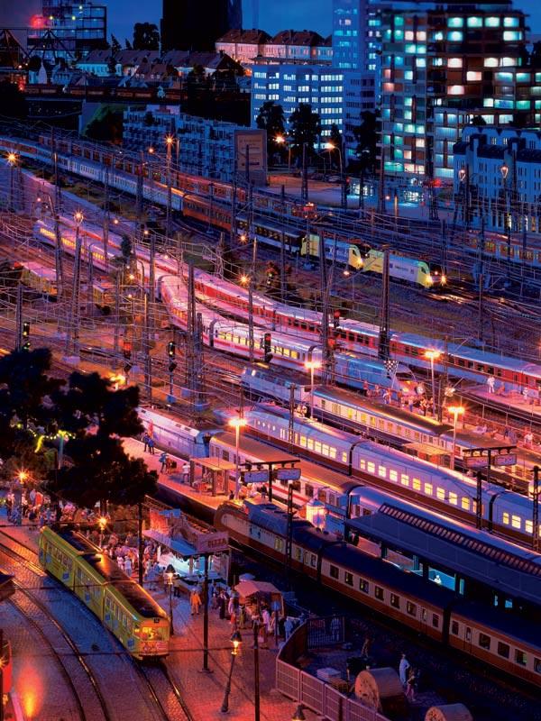 Hamburg Hauptbahnhof bei Nacht