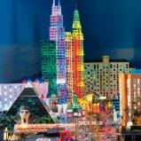 Amerika: Las Vegas bei Nacht