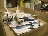 Das Modell der Antonov 12