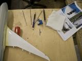 Flugzeug und Werkzeug